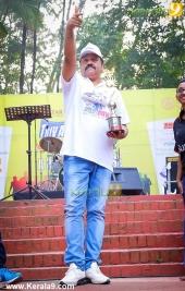 suresh gopi in mini marathon trivandrun stills 127 002