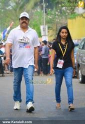 suresh gopi in mini marathon trivandrun stills 357 005