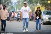 suresh gopi in mini marathon trivandrun stills 357 006