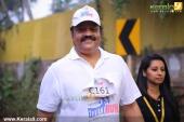 suresh gopi in mini marathon trivandrun stills 357 007