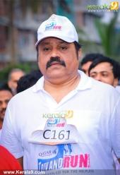 suresh gopi in mini marathon trivandrun stills 357
