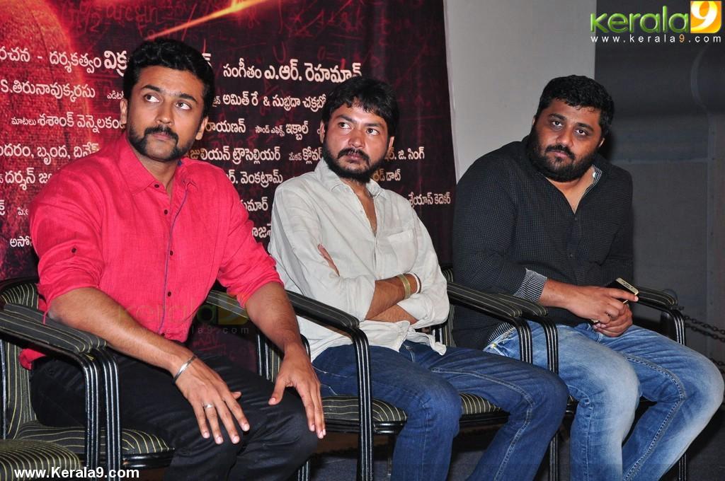 suriya at 24 movie press meet stills 654 00