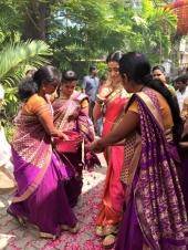 trisha engagement reception photos 001