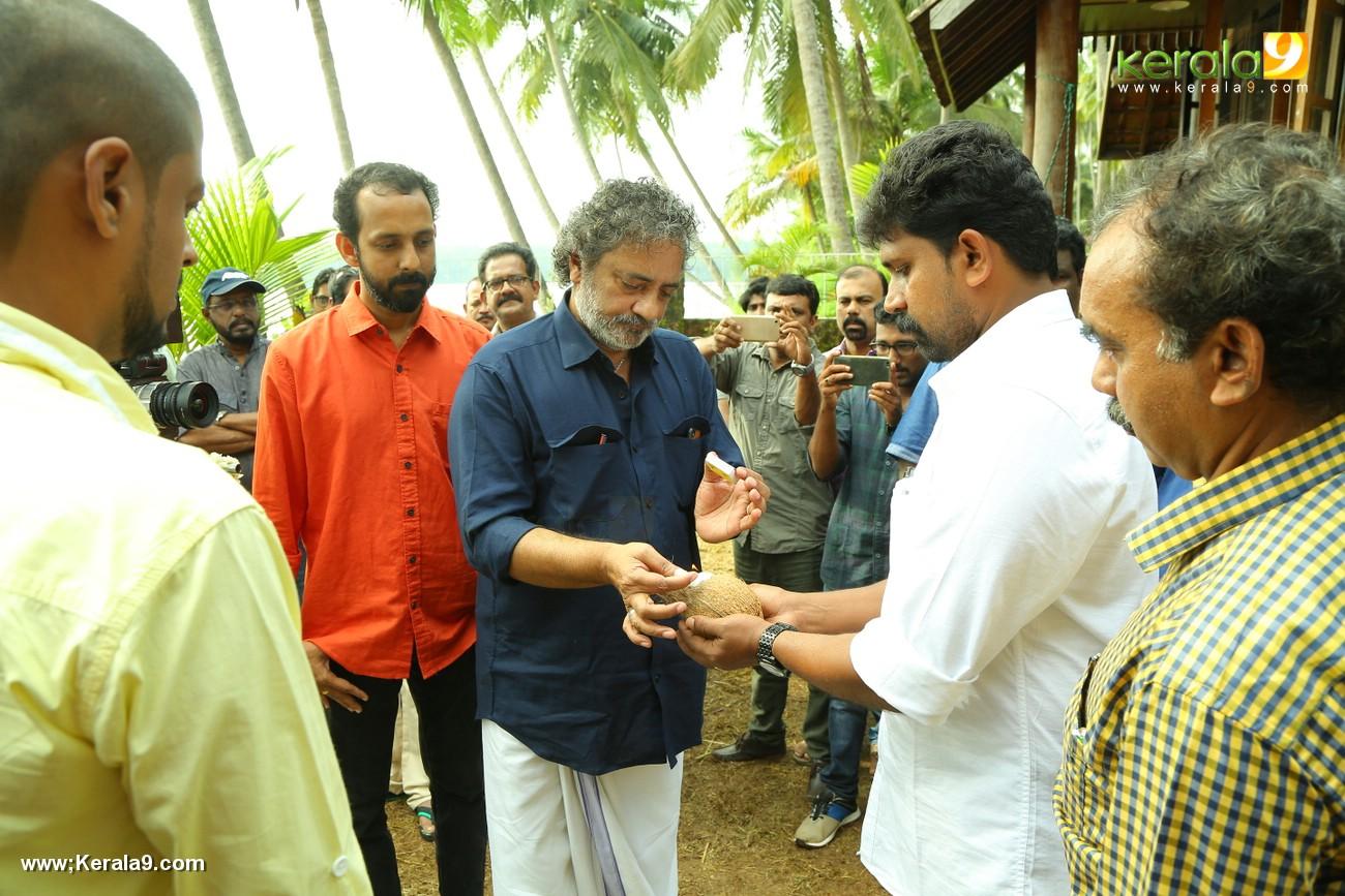 joy mathew at uncle malayalam movie pooja photos 129