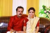 vaikom vijayalakshmi engagement photos