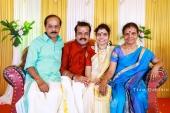vaikom vijayalakshmi engagement pictures