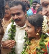 vaikom vijayalakshmi marriage photos 8