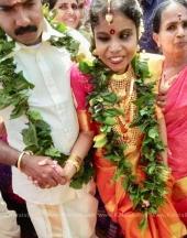 vaikom vijayalakshmi wedding photos 11