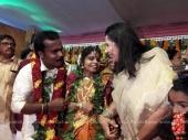 vaikom vijayalakshmi wedding photos 1