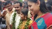 vaikom vijayalakshmi wedding photos 3