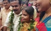vaikom vijayalakshmi wedding photos 5