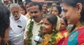 vaikom vijayalakshmi wedding photos 7