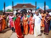 vaikom vijayalakshmi marriage photos 021 3