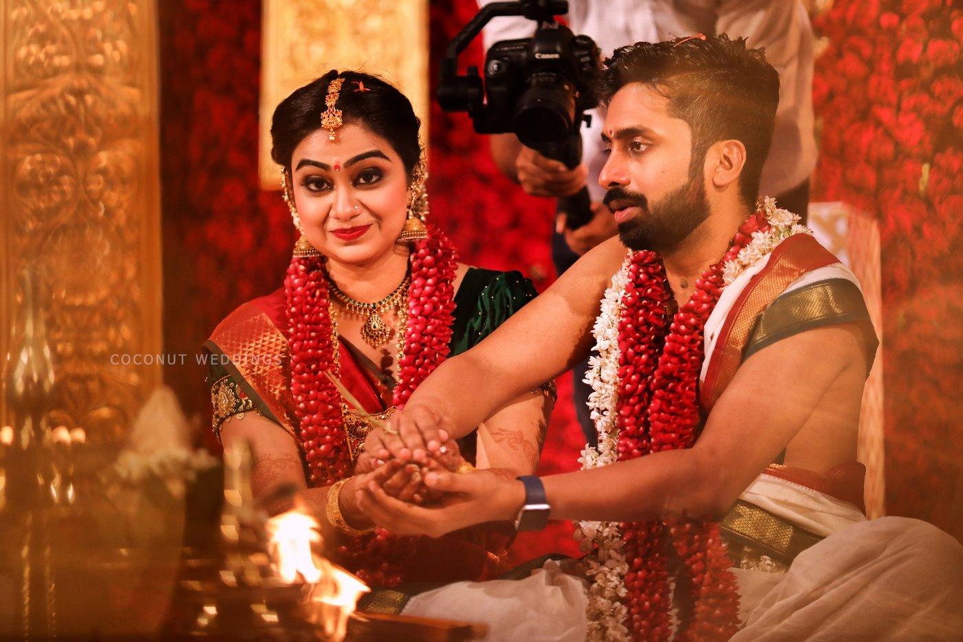 vidhya unni marriage photos