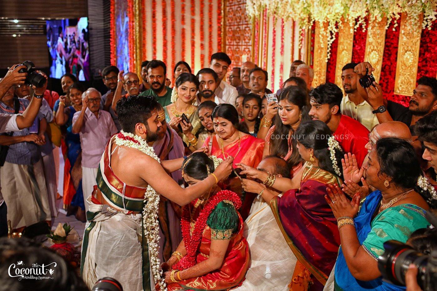 vidhya unni wedding photos