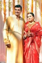 7908vidya balan wedding phot
