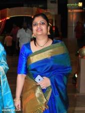 geethu mohandas at vijayaraghavan son wedding reception photos 092 049