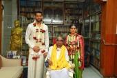 vikram daughter akshita marriage photos 001