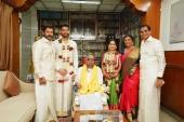 vikram daughter akshita wedding photos