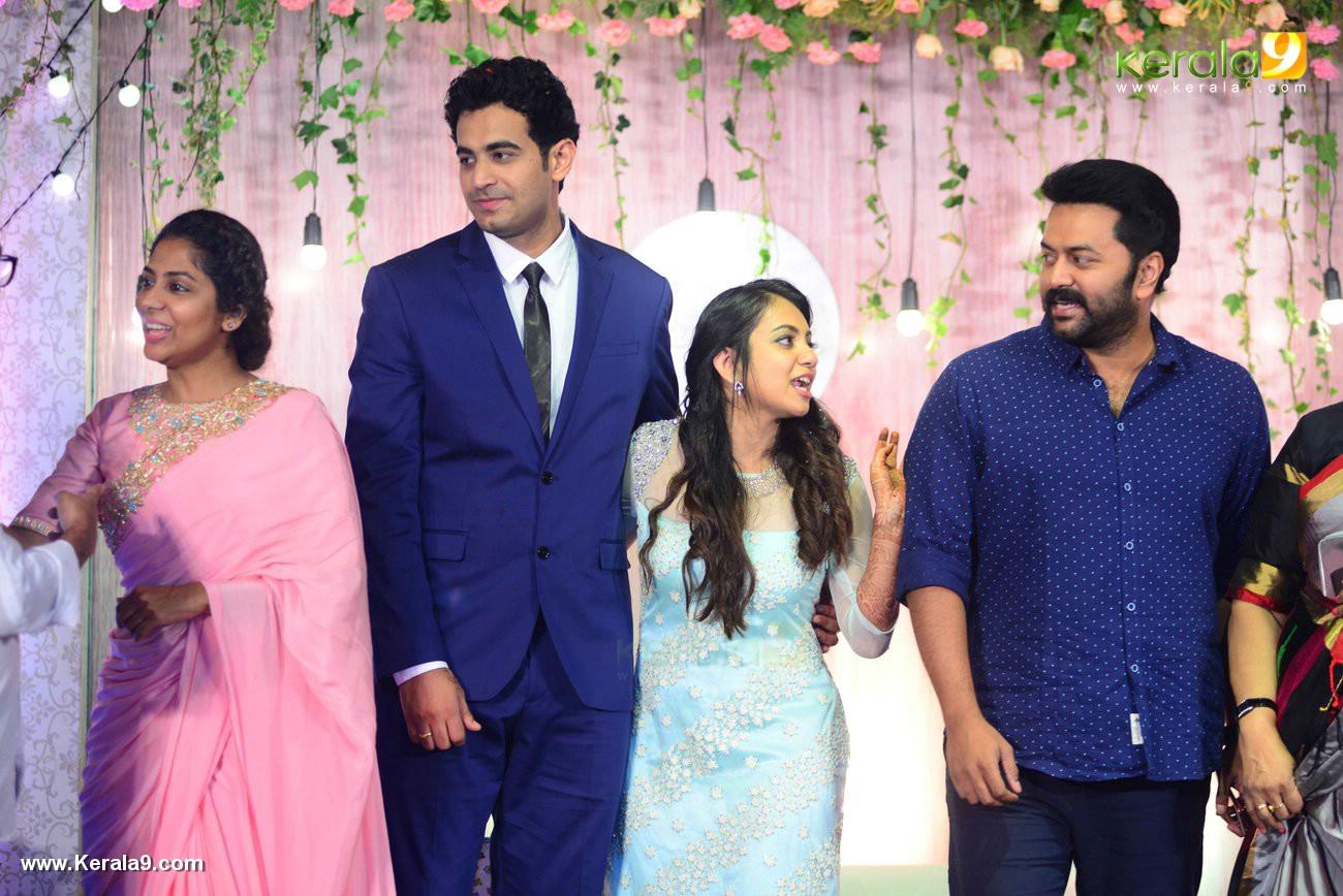 indrajith sukumaran at vk prakash daughter marriage and