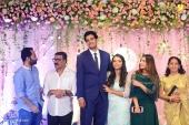 nazriya nazim at vk prakash daughter marriage and reception photos 122 196