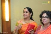 sajitha madathil at vk prakash daughter marriage and reception photos 122 127