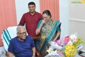 vs achuthanandan 91st birthday party photos