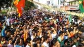 yuva morcha youth congress secretariat march at thiruvananthapuram photos 100 024