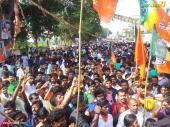 yuva morcha youth congress secretariat march at thiruvananthapuram photos 100 027