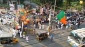 yuva morcha youth congress secretariat march at thiruvananthapuram pics 123