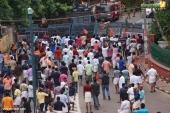 yuva morcha youth congress secretariat march at thiruvananthapuram pictures 333 001