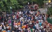 yuva morcha youth congress secretariat march at thiruvananthapuram pictures 333 002