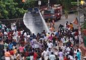 yuva morcha youth congress secretariat march at thiruvananthapuram pictures 333 003