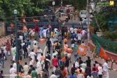 yuva morcha youth congress secretariat march at thiruvananthapuram pictures 33