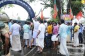 yuvamorcha secretariat march stills 400