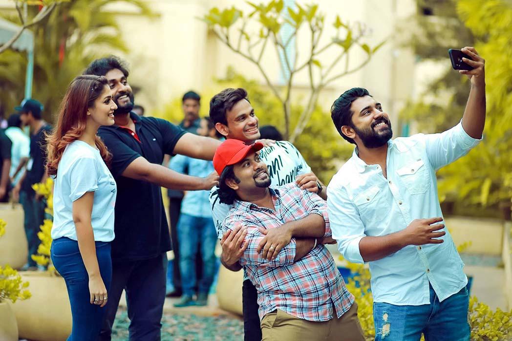 nayanthara at love action drama location stills