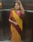 1_aditi-ravi-saree-photos
