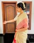 ahaana krishna new onam saree photos-005