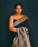 ahana-krishnakumar-new-photos-in-black-saree-04-006