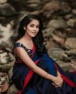 anikha surendran new saree photos-002