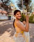 anna ben new saree photos