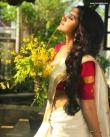 anupama parameswaran kerala saree latest photos-001
