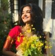 anupama parameswaran kerala saree latest photos-002