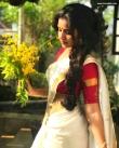 anupama parameswaran kerala saree latest photos-004