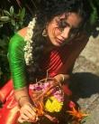 anupama parameswaran new onam saree photos-001