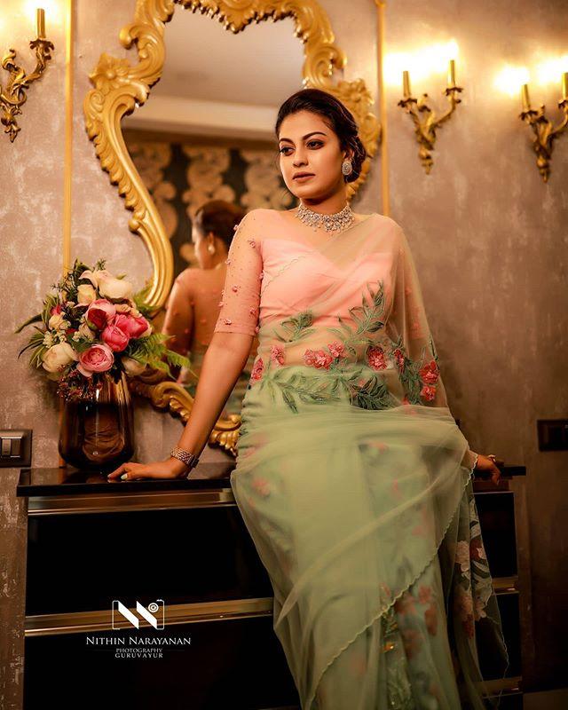anusree saree photos 4123-003