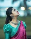Gayathri Suresh latest photoshoot in saree-002