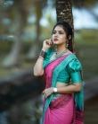 Gayathri Suresh latest photoshoot in saree