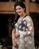 honey-rose-new-saree-look-photos
