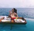 kajal agarwal honeymoon pics latest-016